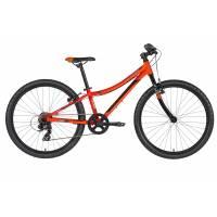 "KELLYS Kiter 30 Neon orange (24""), подростковый велосипед, колёса 24"", рама алюминиевая 11"", 7 скор., без амортизатора"