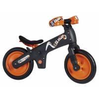 Беговел детский BELLELLI B-BIP, чёрно-оранжевый