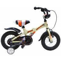 """GRAVITY Speed КРЕМОВЫЙ, детский велосипед, колёса 12"""", рама: Al, рост 200мм, 1 скор."""
