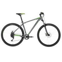 "KELLYS Spider 10 Green, МТВ велосипед, колёса 29"", рама: AI 6061 430мм, 24 скор."