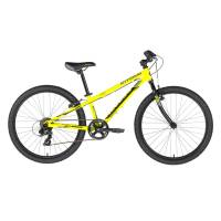 "KELLYS Kiter 30 Yellow Neon, подростковый велосипед, колёса 24"", рама алюминиевая 11"", 7 скор., без амортизатора"