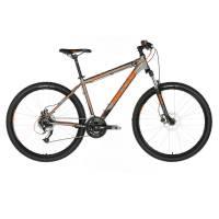 "KELLYS Viper 50 Black Orange Neon, МТВ велосипед, колёса 27,5"", рама:AI 6061 15,5"", 24 скор."