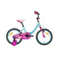 "KELLYS Emma Sky (16""), детский велосипед, колёса 16"", рама алюминиевая 10"", 1 скор., без амортизатора"