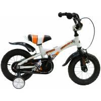 "GRAVITY Speed БЕЛЫЙ, детский велосипед, колёса 12"", рама: Al, рост 200мм, 1 скор."