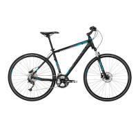 "KELLYS Phanatic 30 Dark Blue, кроссовый велосипед, колёса 28"", рама: Al 6061 3B 17"", 27 скор."
