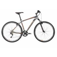 "KELLYS PHANATIC 10 GREY, кроссовый велосипед, колёса 28"", рама: Al 6061 3B 21"", 27 скор."