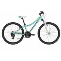 """KELLYS Kiter 50 Aqua (24""""), подростковый велосипед, колёса 24"""", рама алюминиевая 11"""", 21 скор."""