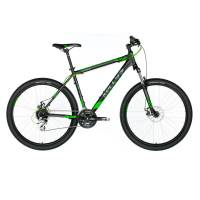 "KELLYS Viper 30 Black Green, МТВ велосипед, колёса 26"", рама:AI 6061 15,5"", 24 скор."