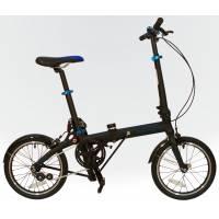 """DAHON JiFo UNO 16 Shadow, велосипед складной, колёса 16"""", крылья, 1 скор."""