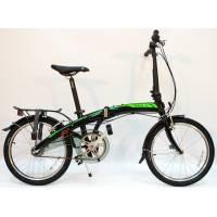 """DAHON Curve i3-20 Obsidian, велосипед складной, колёса 20"""", крылья, багажник, насос, 3 скор."""