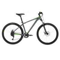"KELLYS Spider 10 Green, МТВ велосипед, колёса 27,5"", рама: AI 6061 475мм, 24 скор."
