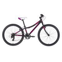 "KELLYS Kiter 30 Pink, подростковый велосипед, колёса 24"", рама алюминиевая 11"", 7 скор., без амортизатора"