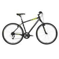 "KELLYS Cliff 70 Black Green, кроссовый велосипед, колёса 28"", рама: Al 6061 23"", 24 скор."