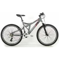 "SPRINT TOP GUN 26, МТВ двухподвес. велосипед, колёса 26"", рама: Al 18"", 21 скор."