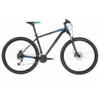 "KELLYS Spider 50 Black Blue 29"" L, МТВ велосипед, колёса 29"", рама: AI 6061 530мм, 27 скор."