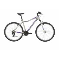 "KELLYS Vanity 10 Purple Grey 27.5"" M, MTB женский велосипед, колёса 27,5"", рама Al 6061, 21 скор."