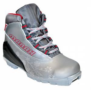 Ботинки лыжные МXN-300 серебро Women NNN р.34