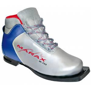 Ботинки лыжные М-350 NN75 серебряно-синие р.37