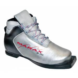 Ботинки лыжные М-350 NN75 серебряно-черные р.38