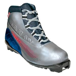 Ботинки лыжные МXS-300 серебро SNS р.46