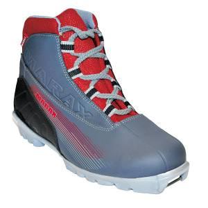 Ботинки лыжные МXN-300 серые NNN р.34