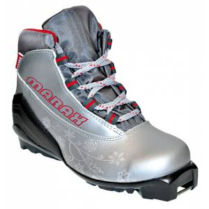 Ботинки лыжные МXS-300 Women серебро SNS р.40