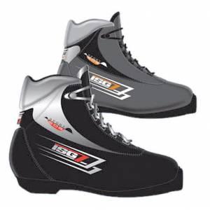 Ботинки лыжные ISG SPORT403 черные NNN (р.32)