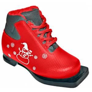 Ботинки лыжные М-350 NN75 красные р.30